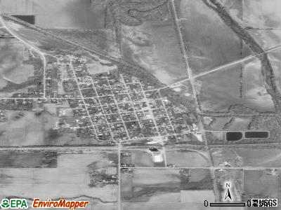 Cambridge satellite photo by USGS