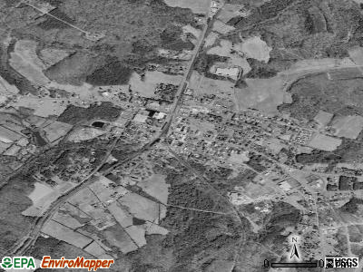 Keysville satellite photo by USGS