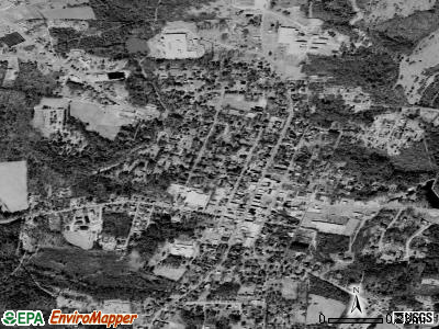 Warrenton satellite photo by USGS