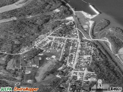York Haven satellite photo by USGS