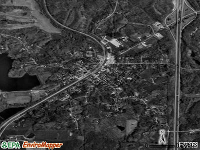 Dongola satellite photo by USGS