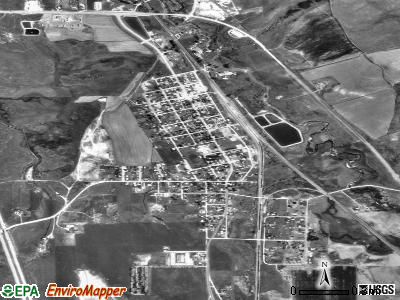 McCammon satellite photo by USGS