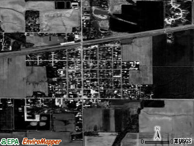 St. Jacob satellite photo by USGS
