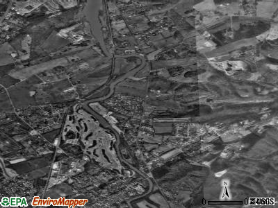 Rockford satellite photo by USGS