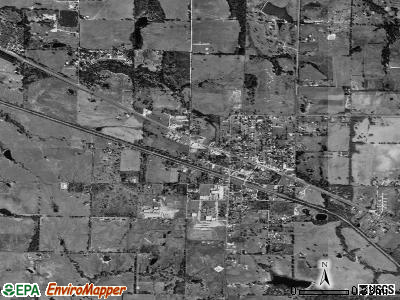 Eustace satellite photo by USGS
