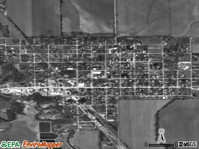 St. Edward satellite photo by USGS