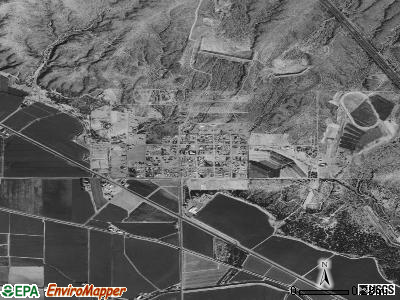 Salem satellite photo by USGS