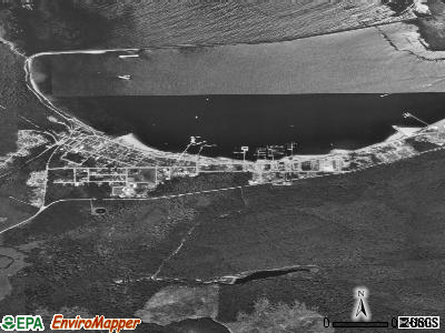 Mayersville satellite photo by USGS