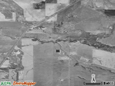 Box Elder satellite photo by USGS