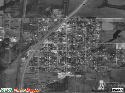 South Coffeyville satellite photo by USGS