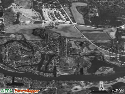 Fox River Valley Gardens satellite photo by USGS