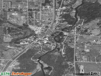 Alanson satellite photo by USGS
