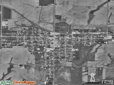 Blandinsville satellite photo by USGS