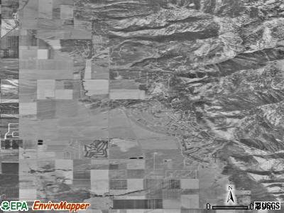 Star Valley Ranch satellite photo by USGS