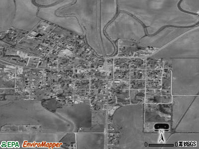 Crowder satellite photo by USGS