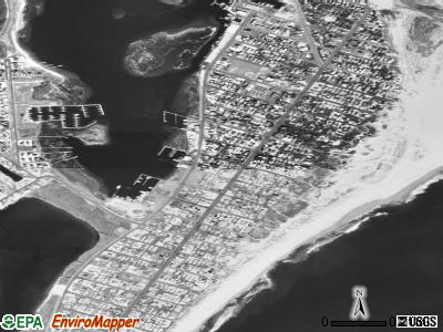 Barnegat Light satellite photo by USGS