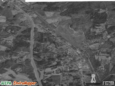 Bethel Springs satellite photo by USGS
