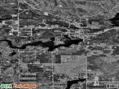 Atlanta satellite photo by USGS