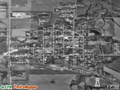 Crofton satellite photo by USGS