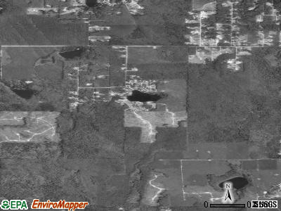 John Sam Lake satellite photo by USGS