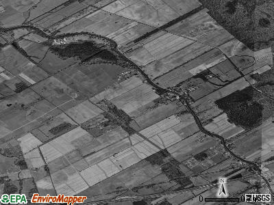 Rosedale satellite photo by USGS