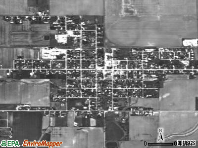 Stewardson satellite photo by USGS