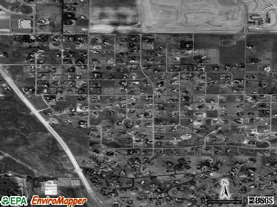 Foxfield satellite photo by USGS