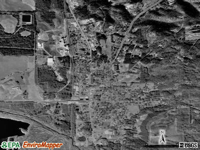 Fairmount satellite photo by USGS
