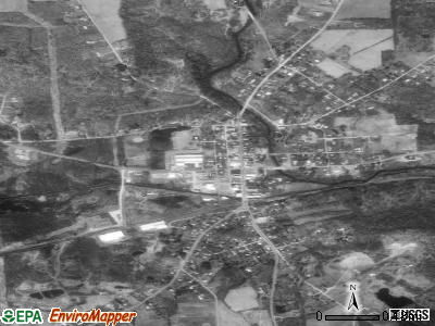 Battle Creek satellite photo by USGS