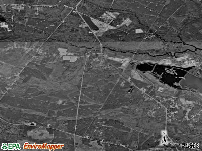 Riceboro satellite photo by USGS