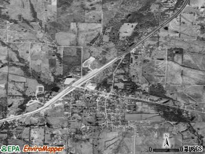 Campbell satellite photo by USGS