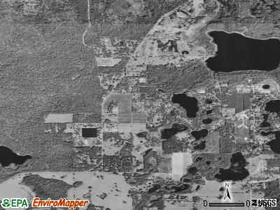 Paisley satellite photo by USGS