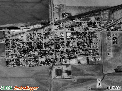 Minneola satellite photo by USGS
