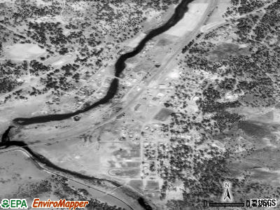 Chiloquin satellite photo by USGS
