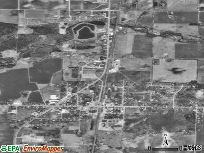 Coleman satellite photo by USGS
