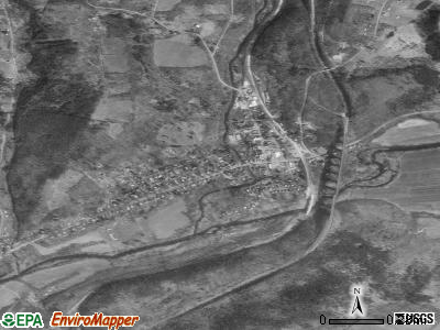 Nicholson satellite photo by USGS