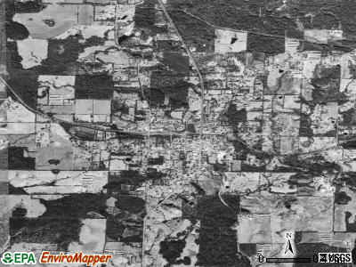 Lockesburg satellite photo by USGS