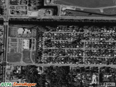 Gun Club Estates satellite photo by USGS
