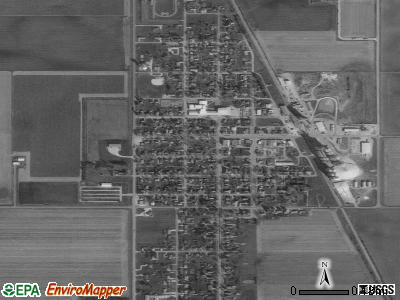 Albert City satellite photo by USGS