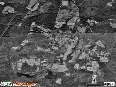 Cottageville satellite photo by USGS