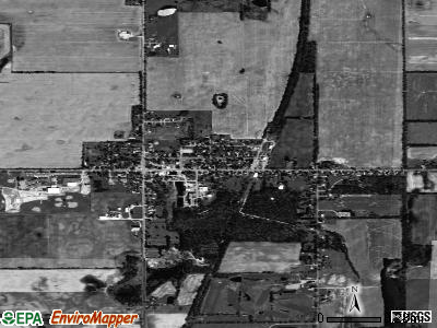 Springport satellite photo by USGS