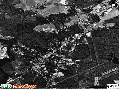 Society Hill satellite photo by USGS