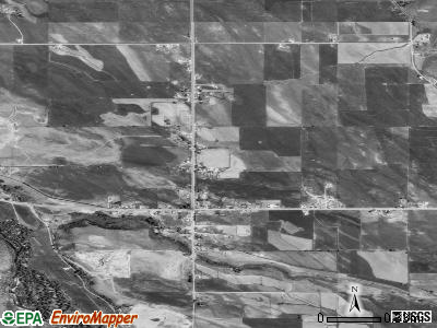 Francis satellite photo by USGS