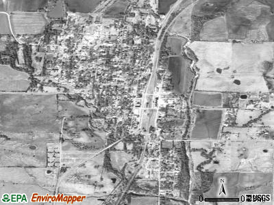 Roxton satellite photo by USGS