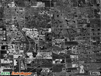 Pembroke Pines satellite photo by USGS