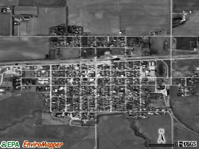 Fairmont satellite photo by USGS