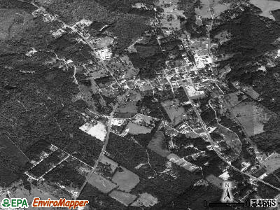 Coldspring satellite photo by USGS