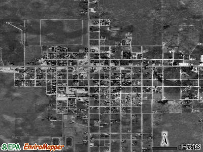 Tatum satellite photo by USGS