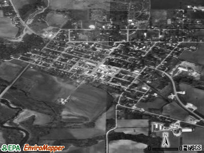 Hopkinton satellite photo by USGS