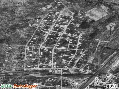 Sankertown satellite photo by USGS